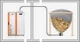 Твердопаливний котел HKS LAZAR SmartFire 15kW/50+165L COMPACT 12