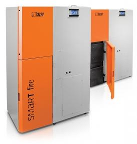 Твердотопливный котел HKS LAZAR SmartFire 11kW/400L