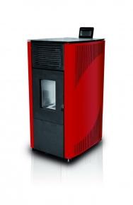 Твердопаливний котел-піч HKS LAZAR SmartFire 12 Bordo